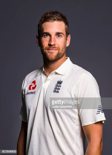Dawid Malan of England poses for a portrait at The Kia Oval on July 25 2017 in London England