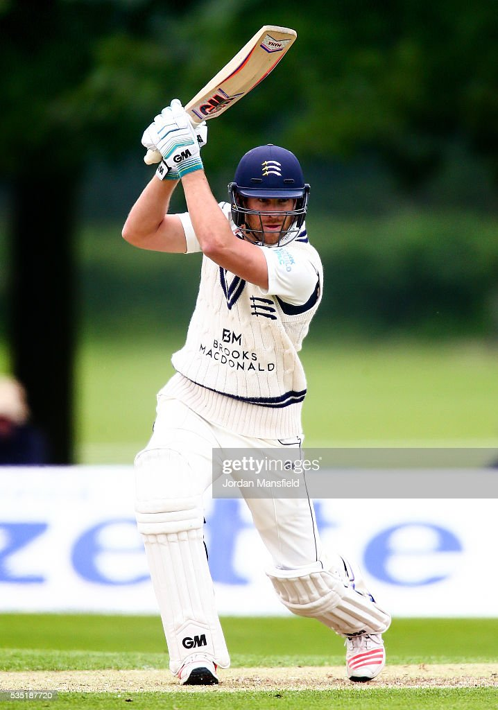<a gi-track='captionPersonalityLinkClicked' href=/galleries/search?phrase=Dawid+Malan&family=editorial&specificpeople=4250352 ng-click='$event.stopPropagation()'>Dawid Malan</a> of Middlesex bats during day one of the Specsavers County Championship Division One match between Middlesex and Hampshire at Merchant Taylors' School on May 29, 2016 in Northwood, England.