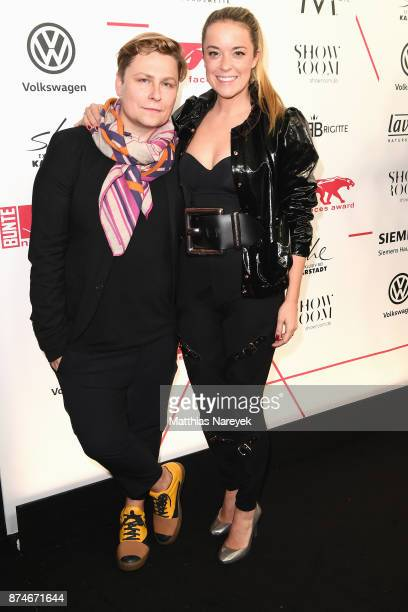 Dawid Tomaszewski and Marina Hoermanseder attend the New Faces Award Style 2017 at The Grand on November 15 2017 in Berlin Germany