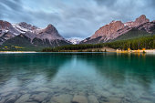 Dawn at Canmore