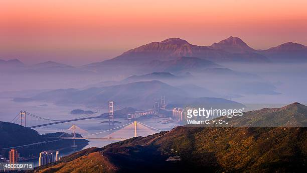 Dawn at Lantau Peak & Sunset Peak, Hong Kong