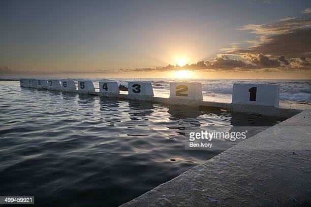 Dawn at Merewether Ocean Baths