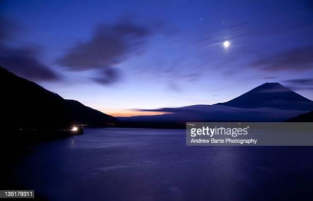 Dawn at Mt. Fuji
