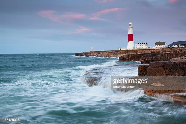 Dawn at Portland Bill.