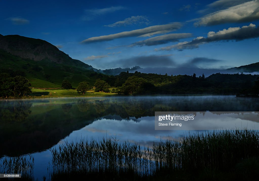 Dawn at Rydal Water, Cumbria, UK