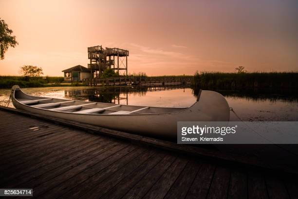 Dawn at the Marsh Boardwalk of Point Pelee National Park