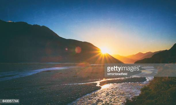 Dawn Breaks In Arthur's Pass, New Zealand