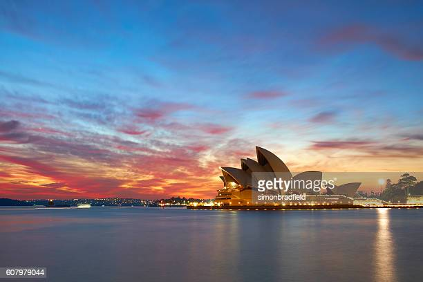 Dawn Breaks Over Sydney Harbour
