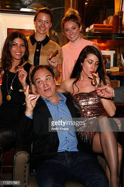 Dawn Dunning Jim Belushi Tanya Fischer Ashley Stanton and Lynne Marie Volk attend the Creative Coalition friends celebration of the Broadway show...
