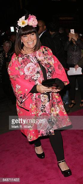 Dawn French attending the Absolutely Fabulous The Movie world film premiere after party at Liberty of London on June 29 2016 in London England