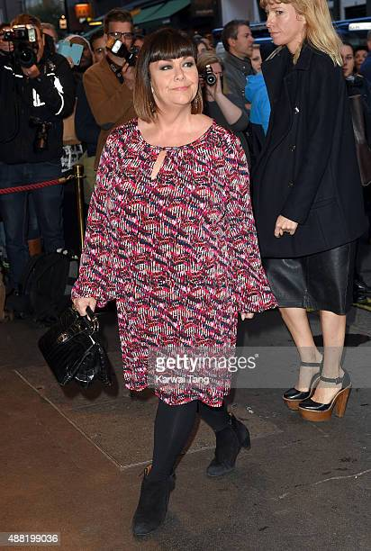 Dawn French attends the press night of 'Photograph 51' at Noel Coward Theatre on September 14 2015 in London England