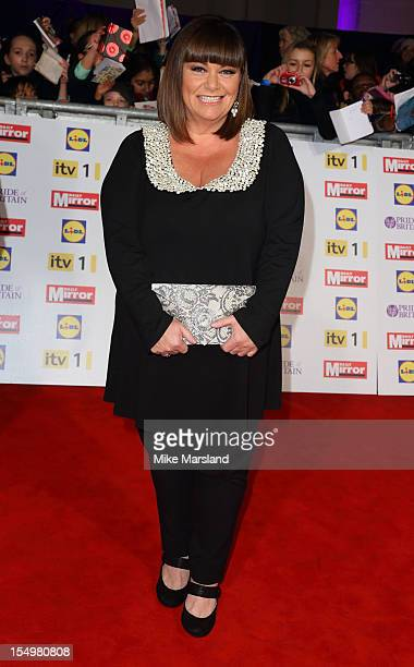 Dawn French attends the Pride Of Britain awards at Grosvenor House on October 29 2012 in London England