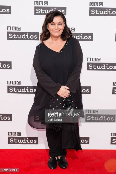 Dawn French attends the Ronnie Barker comedy lecture with Ben Elton at BBC Broadcasting House on June 5 2017 in London England