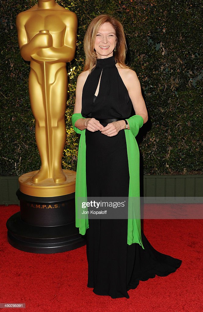 Dawn Hudson arrives at The Board Of Governors Of The Academy Of Motion Picture Arts And Sciences' Governor Awards at Dolby Theatre on November 16...