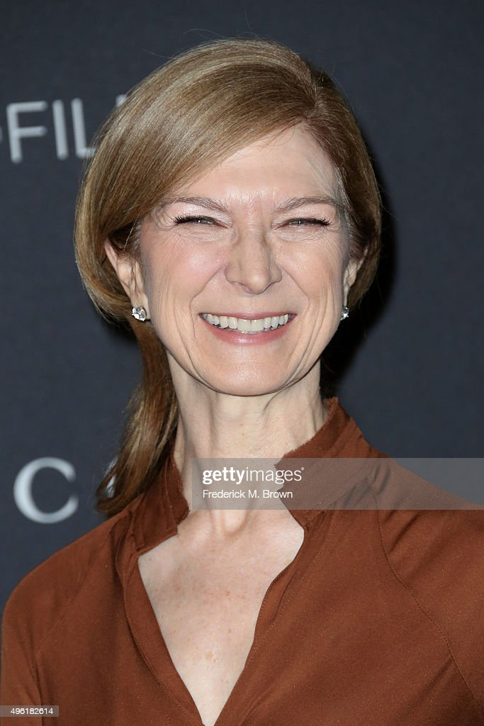 Dawn Hudson attends LACMA 2015 ArtFilm Gala Honoring James Turrell and Alejandro G Iñárritu Presented by Gucci at LACMA on November 7 2015 in Los...