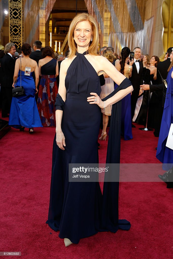 Dawn Hudson attends the 88th Annual Academy Awards at Hollywood Highland Center on February 28 2016 in Hollywood California