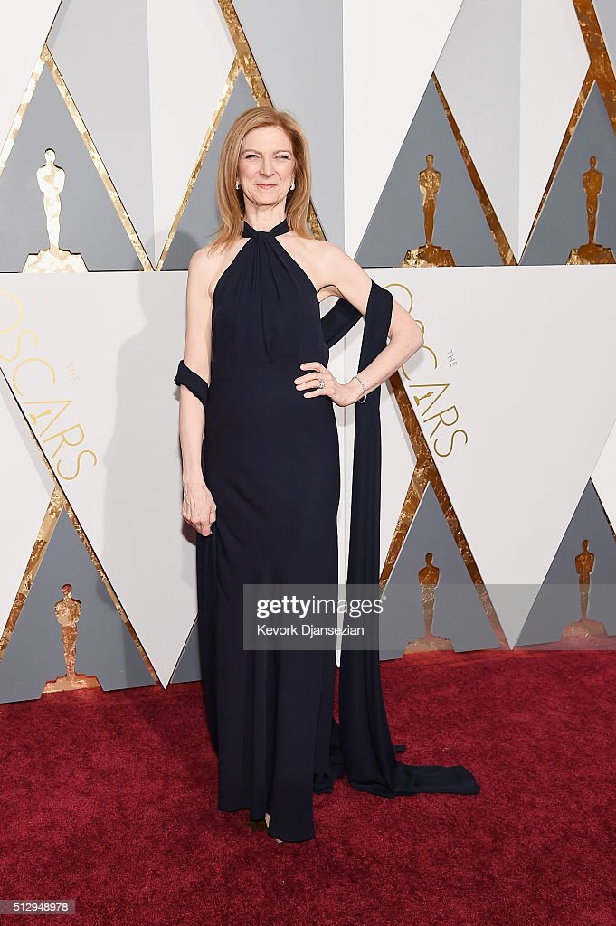 CEO, AMPAS, Dawn Hudson attends the 88th Annual Academy Awards at Hollywood & Highland Center on February 28, 2016 in Hollywood, California.