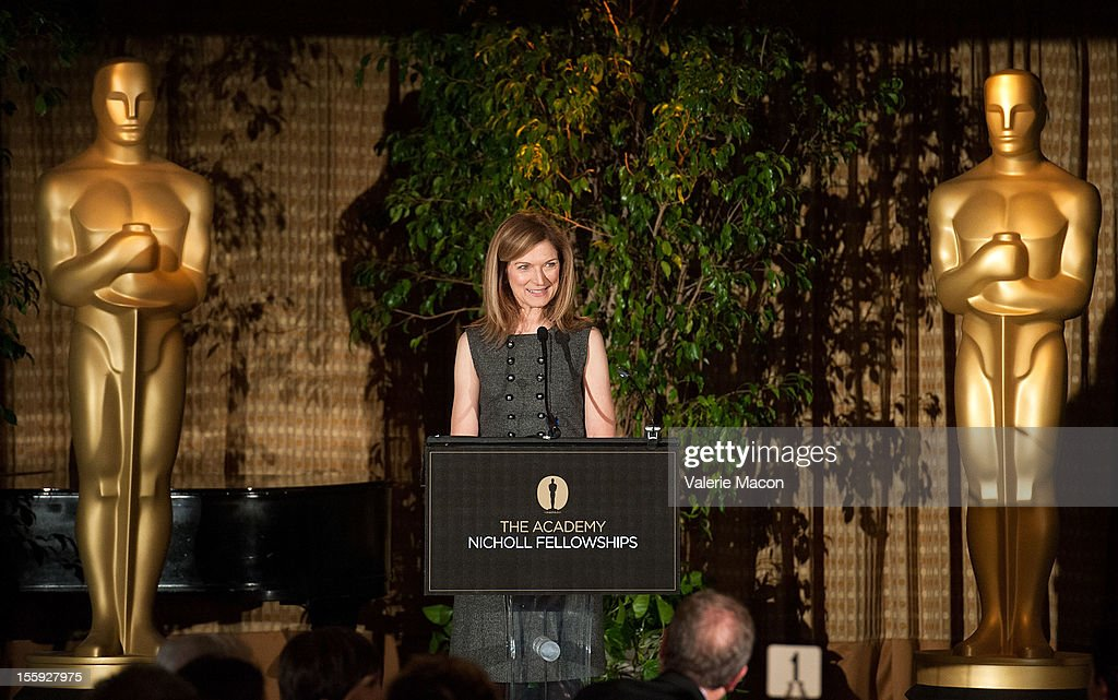 Dawn Hudson attends The Academy Of Motion Picture Arts And Sciences' Nicholl Fellowship Ceremony on November 8 2012 in Beverly Hills California