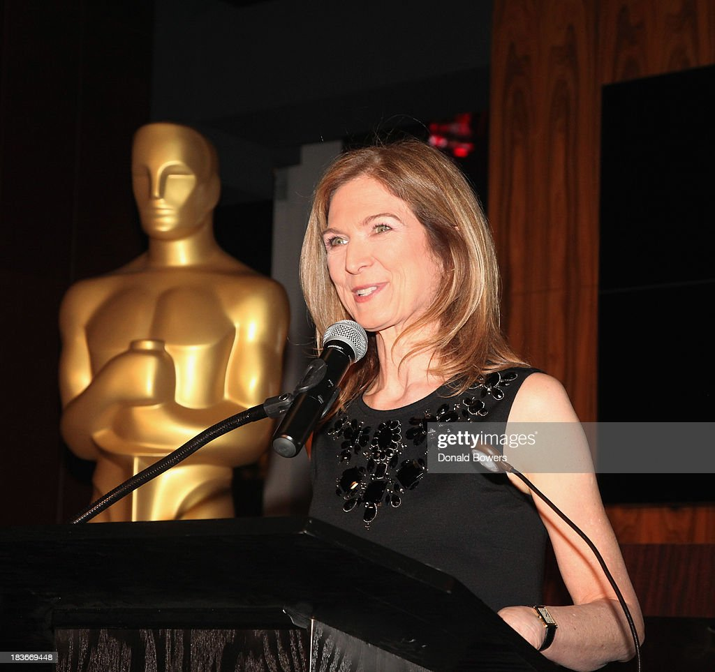 Dawn Hudson attends The Academy Of Motion Picture Arts And Sciences Hosts The New York Member Receptio on October 8 2013 in New York City