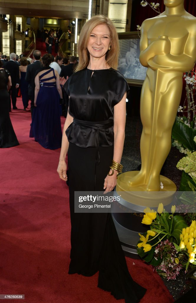 Dawn Hudson CEO Academy of Motion Picture Arts and Sciences attends the Oscars held at Hollywood Highland Center on March 2 2014 in Hollywood...