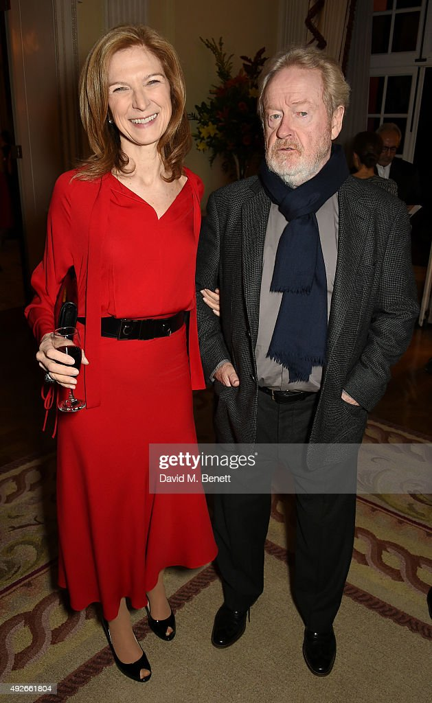 Dawn Hudson CEO of Academy Of Motion Picture Arts and Sciences and director Ridley Scott attend The Academy Of Motion Pictures Arts Sciences new...