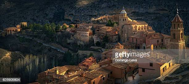 Dawn in Albarracin, Teruel, Aragon, Spain