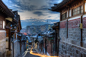 Dawn in Bukchon