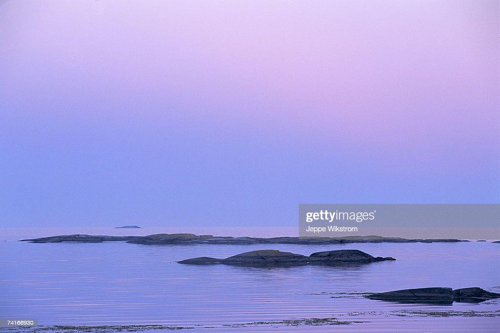 Dawn in the archipelago.