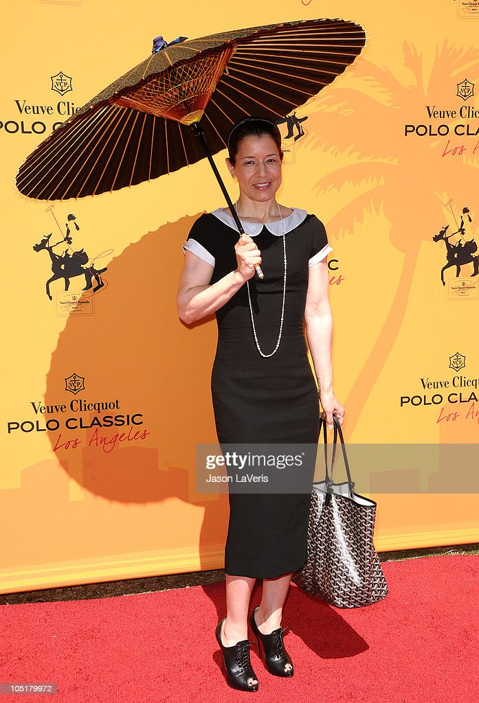 Dawn Jones attends the 1st annual Veuve Clicquot Polo Classic at Will Rogers State Historic Park on October 10 2010 in Pacific Palisades California