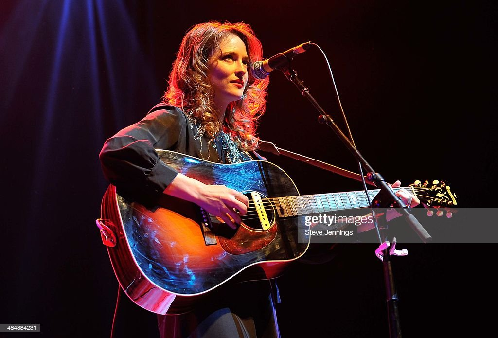 Dawn Landes performs at The Fox Theatre on April 14 2014 in Oakland California