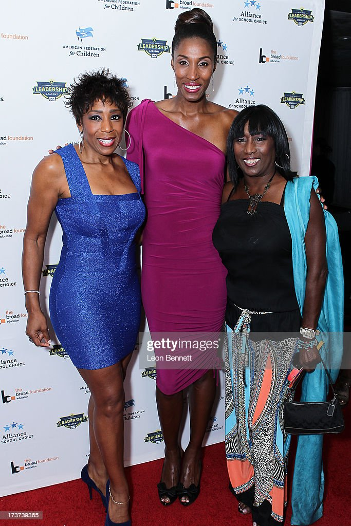 Dawn Lewis, Lisa Lesile and Keke Shepard attended The Champions For Choice In Education ESPYs Kickoff Cocktail Party at Ritz Carlton on July 16, 2013 in Los Angeles, California.