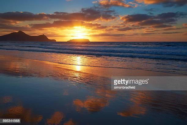 Dawn Light On The Beach At Porto Santo