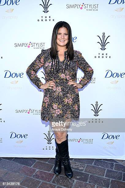 Dawn McCoy attends the Simply Stylist Sessions Hosted by Jamie Chung and Dawn McCoy at The Whisper Lounge on October 8 2016 in Los Angeles California