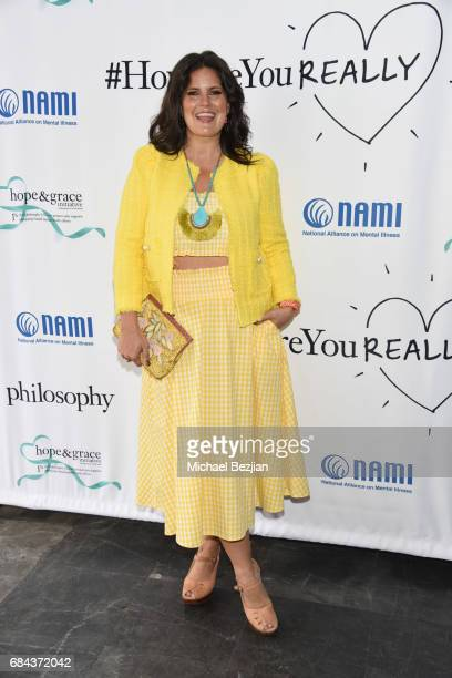 Dawn McCoy attends The Third Annual Hope and Grace Luncheon In Honor of Mental Health Awareness Month hosted by philosophy and Zelda Williams May 17...