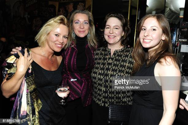 Dawn McDaniel Bettina Alonso Caroline Bassett and Glenda Luft attend CHRISTIE'S The Green Auction A Bid To Save The Earth at Christie's on April 22...