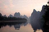 Dawn of Li River