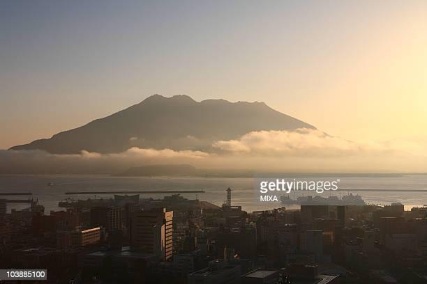 Dawn of Sakurajima, Kagoshima, Kagoshima, Japan