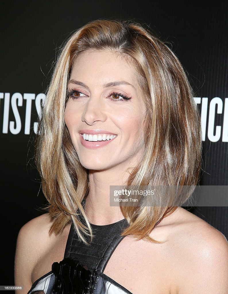 Dawn Olivieri arrives at the 6th Annual Hollywood Domino Pre-Oscar Gala & Tournament held at Sunset Tower on February 21, 2013 in West Hollywood, California.