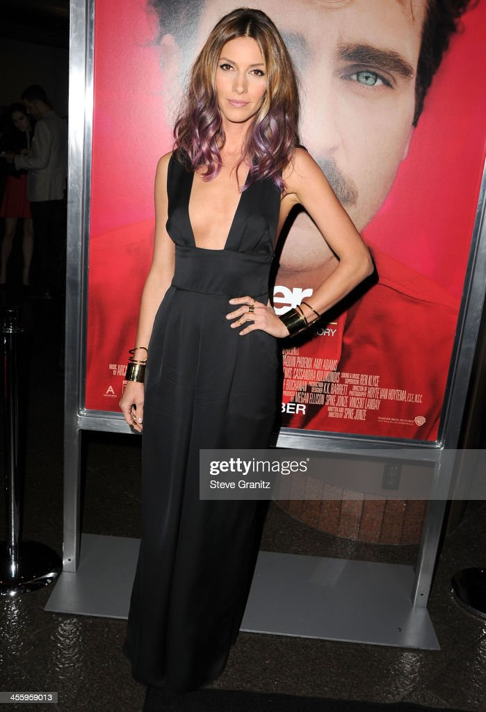 Dawn Olivieri arrives at the 'Her' Los Angeles Premiere - Arrivals at Directors Guild Of America on December 12, 2013 in Los Angeles, California.