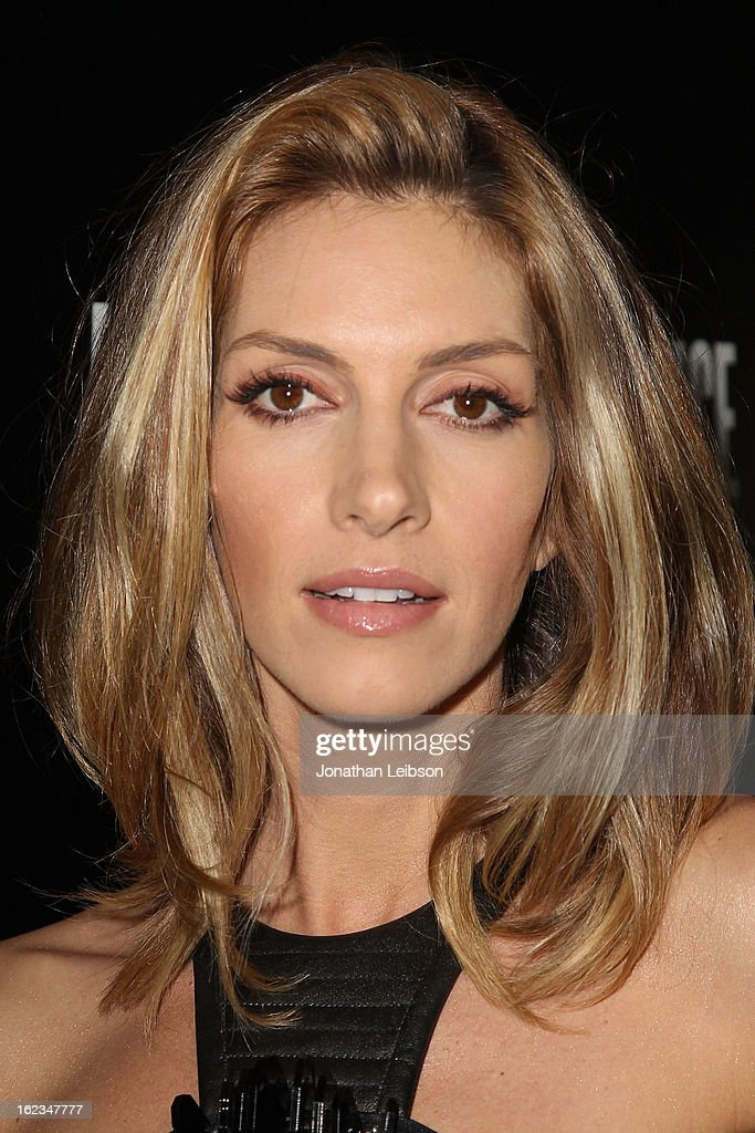 Dawn Olivieri attends the Hollywood Domino And Bovet 1822 Gala Benefiting Artists For Peace And Justice at Sunset Tower on February 21, 2013 in West Hollywood, California.