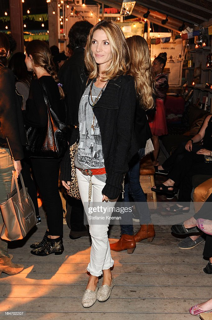 Dawn Olivieri attends TOMS And Haitian Activist Bryn Mooser Host A Private Event To Celebrate Haitian Culture at TOMS Flagship Store on March 26, 2013 in Venice, California.