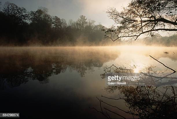 Dawn on the Chattahoochee River