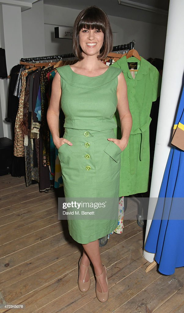 Dawn O'Porter attends the BOB by Dawn O'Porter pop-up boutique launch party in Covent Garden on May 6, 2015 in London, England.