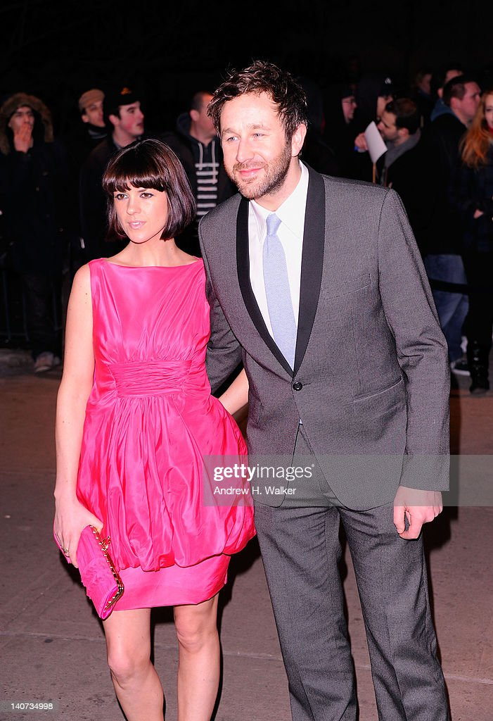 Dawn Porter and Actor <a gi-track='captionPersonalityLinkClicked' href=/galleries/search?phrase=Chris+O%27Dowd&family=editorial&specificpeople=814031 ng-click='$event.stopPropagation()'>Chris O'Dowd</a> attend the Cinema Society & People StyleWatch with Grey Goose screening of 'Friends With Kids' at the SVA Theater on March 5, 2012 in New York City.