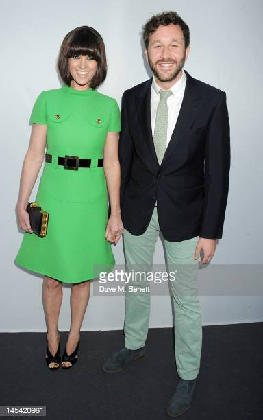 Dawn Porter and Chris O'Dowd arrive at the Glamour Women of the Year Awards in association with Pandora at Berkeley Square Gardens on May 29 2012 in...