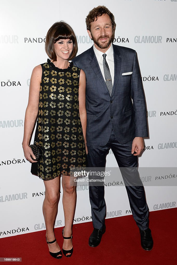 Dawn Porter and Chris O'Dowd attend Glamour Women of the Year Awards 2013 at Berkeley Square Gardens on June 4, 2013 in London, England.