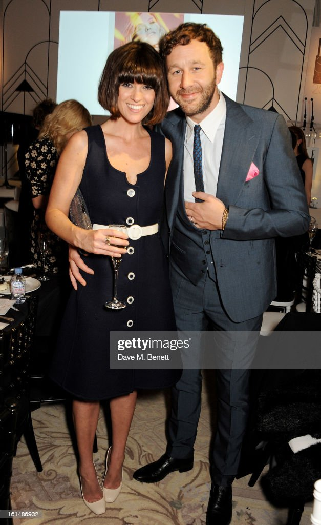 Dawn Porter (L) and <a gi-track='captionPersonalityLinkClicked' href=/galleries/search?phrase=Chris+O%27Dowd&family=editorial&specificpeople=814031 ng-click='$event.stopPropagation()'>Chris O'Dowd</a> attend the after party following the Elle Style Awards at The Savoy Hotel on February 11, 2013 in London, England.