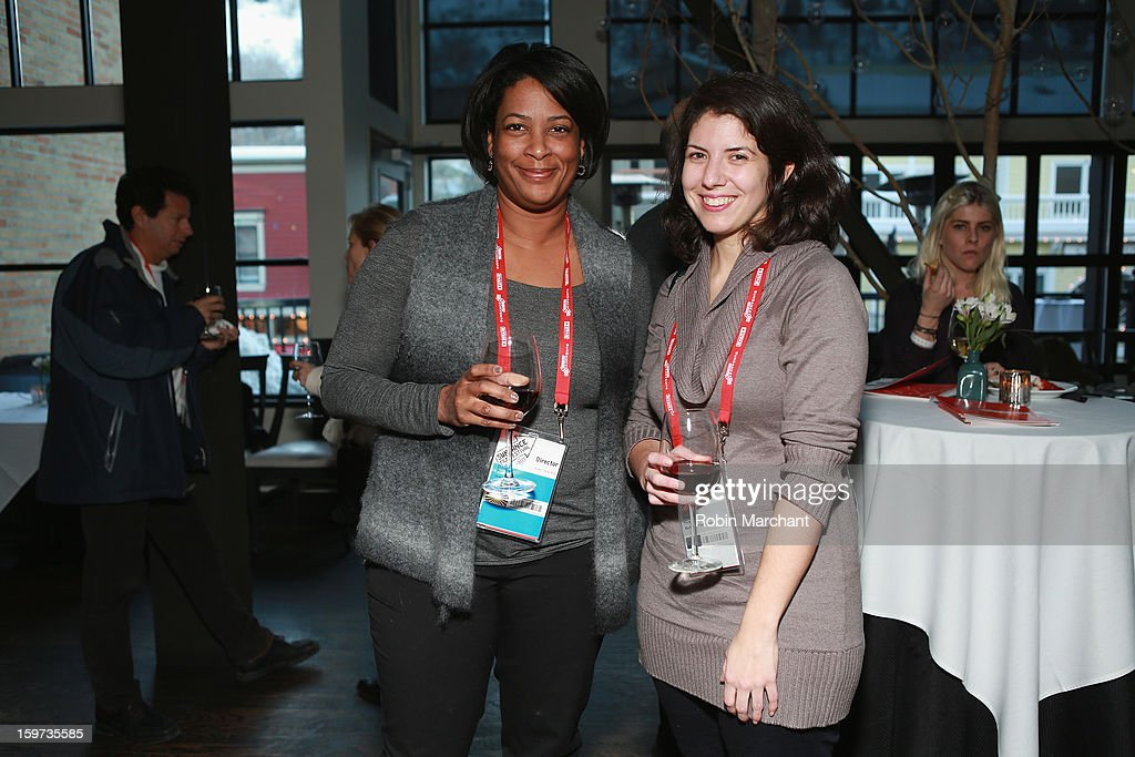 <a gi-track='captionPersonalityLinkClicked' href=/galleries/search?phrase=Dawn+Porter+-+Filmmaker&family=editorial&specificpeople=15382157 ng-click='$event.stopPropagation()'>Dawn Porter</a> and Lauren Pabst attend the Time Warner Reception at Riverhorse Cafe during the 2013 Sundance Film Festival on January 19, 2013 in Park City, Utah.