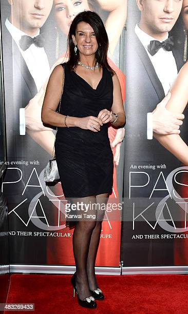 Dawn Porter attends the VIP preview evening for 'Katya Pasha' held at the Lyric Theatre on April 7 2014 in London England