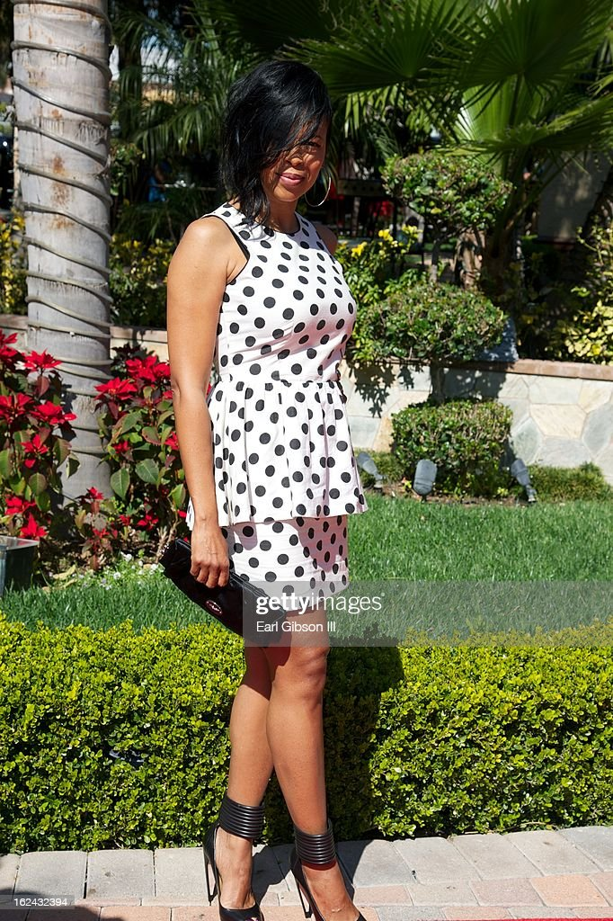 Dawn Robinson (formely of EnVogue) attends the 2nd Annual 'Gospel Goes To Hollywood' Awards Luncheon at Taglyan Cultural Complex on February 22, 2013 in Hollywood, California.